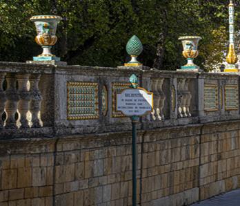 restauro vasi villa